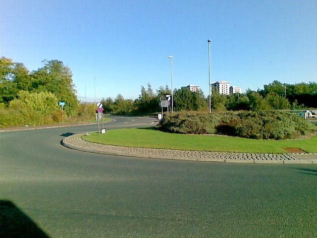 B5358/A555 Roundabout