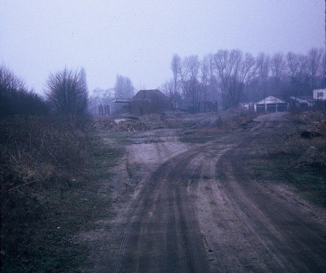 Remains of Rickmansworth (Church Street) Station