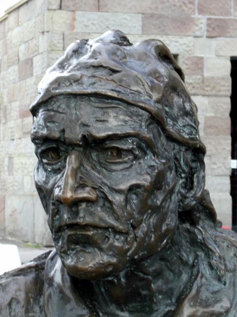 John Cabot statue detail