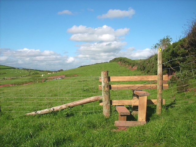 A well built wooden stile