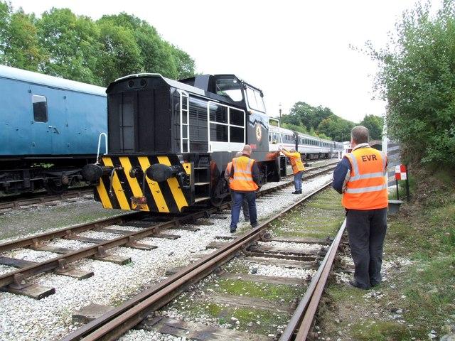 Ecclesbourne Valley Railway, Wirksworth