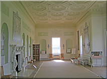 SO8844 : The Long Gallery at Croome Court by Trevor Rickard