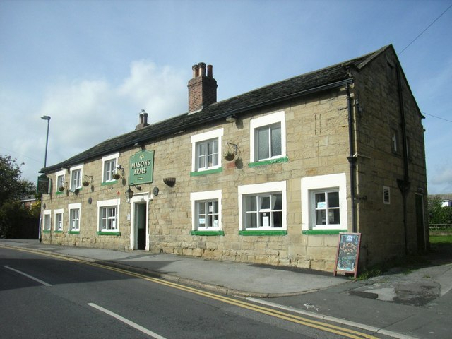 The Masons Arms, Bell Lane, Ackworth Moor