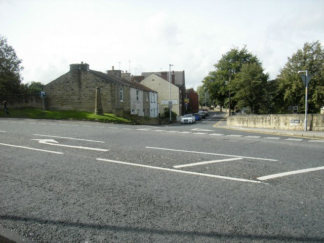 Bell Lane Junction with Barnsley Road, Ackworth Moor Top