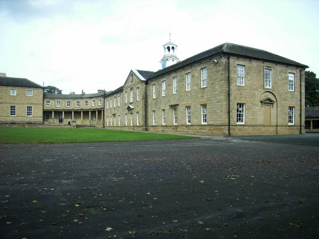 The East  Wing, Ackworth School