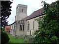 TL7258 : Lidgate St Mary�s church by Adrian S Pye