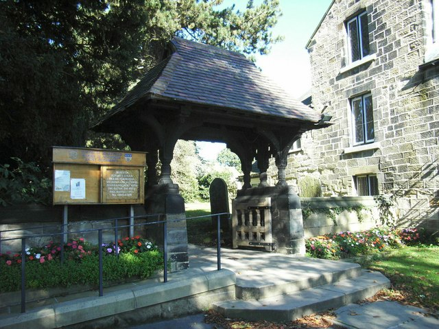 Lych Gate to St Cuthberts, High Ackworth
