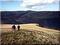 NY3331 : The north ridge of Bowscale Fell by Karl and Ali