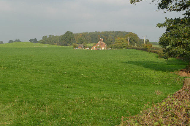 Pasture beside Pexhill Road, Siddington
