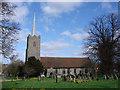TM4367 : Middleton cum Fordley Holy Trinity church by Adrian S Pye