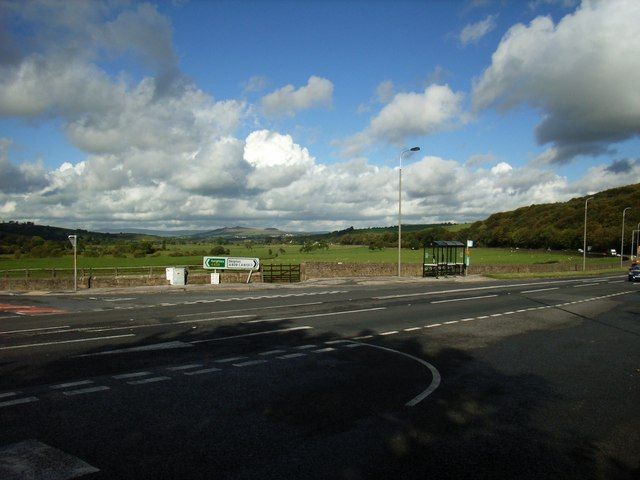 View across Skipton Road, Cononley