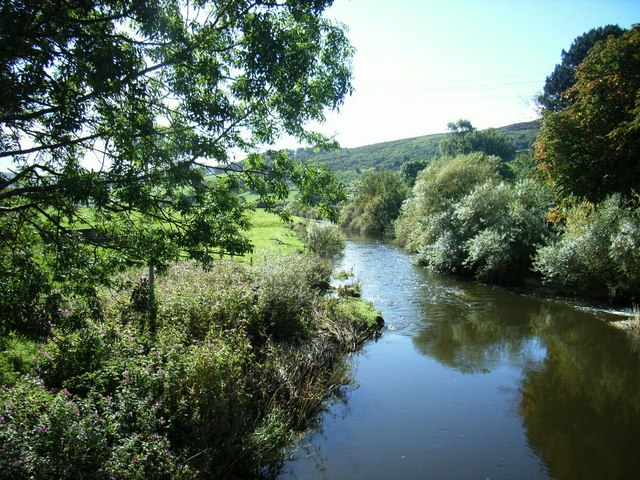 River Aire at Cononley