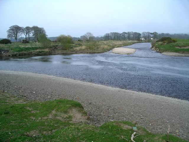 Confluence of the River Annan and Dryfe Water