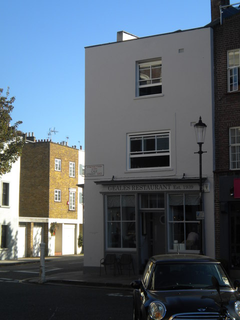 Geales Restaurant, Cale Street SW3