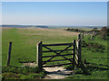 TQ4703 : Gate on South Downs by Oast House Archive