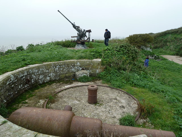 Split Rock Battery, Steep Holm