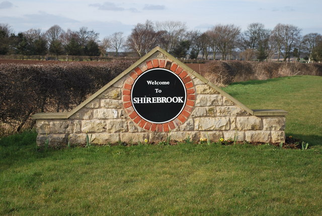 Shirebrook Sign C Roberto Geograph Britain And Ireland