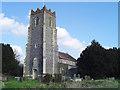 TM2054 : Ottley St Mary the Virgin�s church by Adrian S Pye