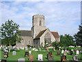 TL9267 : Pakenham St Mary�s church by Adrian S Pye