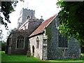 TL9450 : Preston St Mary�s church by Adrian S Pye