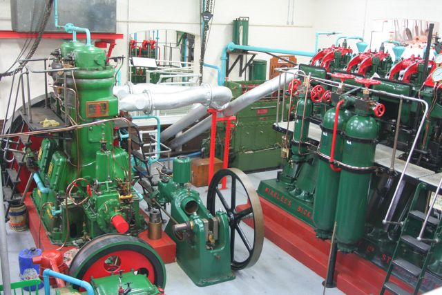 Engines at the Museum of Fenland Drainage, Prickwillow