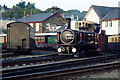 SH5738 : Taliesin Shunts at Porthmadog Harbour Station by Peter Trimming