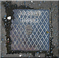 J4981 : Drain cover, Bangor by Rossographer