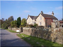 SD5009 : Fine old stone farmhouse on Lees Lane by Raymond Knapman