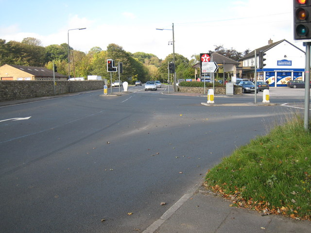 Road Junction at Stickleholme