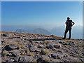 NG8661 : Summit of Sgurr Mhor : Week 41