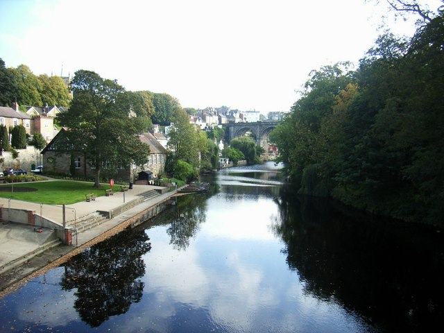 View from High Bridge, Knaresborough