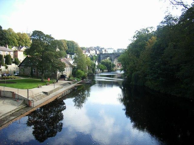 View from High Bridge, Knaresborough