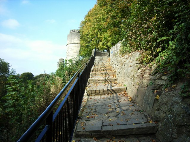 Steps to Castle, Knaresborough