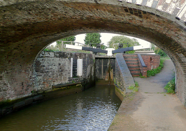 Offerton Top Lock near Tibberton, Worcestershire