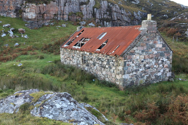 Shepherds Bothy near Caol Rona