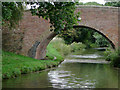 SP0070 : Harris Bridge east of Tutnall, Worcestershire by Roger  Kidd