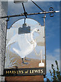 TQ4009 : Swan Inn sign by Oast House Archive