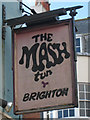 TQ3104 : The Mash Tun sign by Oast House Archive