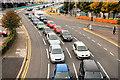 J3474 : Queen Elizabeth Bridge traffic, Belfast by Albert Bridge