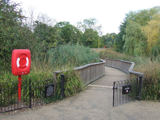 Boardwalk, Dulwich Park