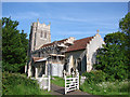 TM1160 : Stonham Parva St Mary the Virgin�s redundant church by Adrian S Pye