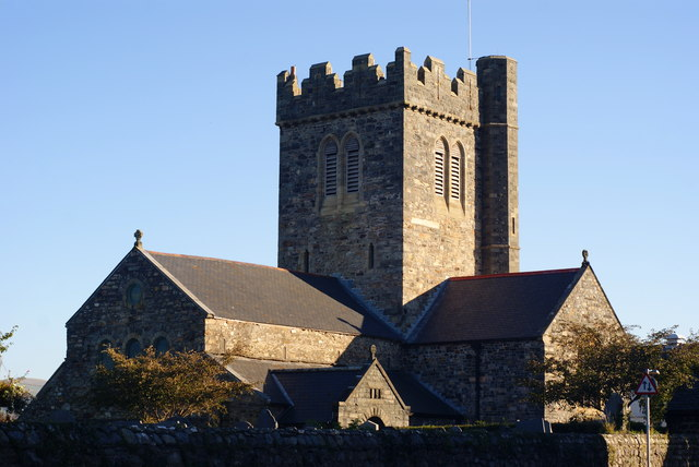 Image result for st cadfan tywyn
