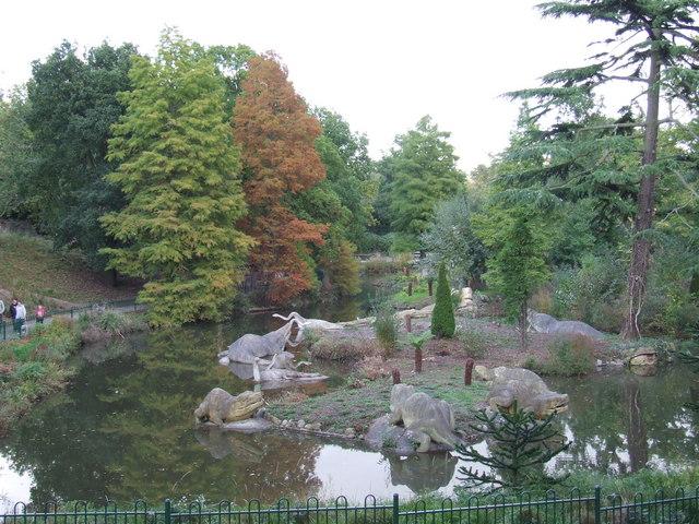 Dinosaurs, Crystal Palace Park