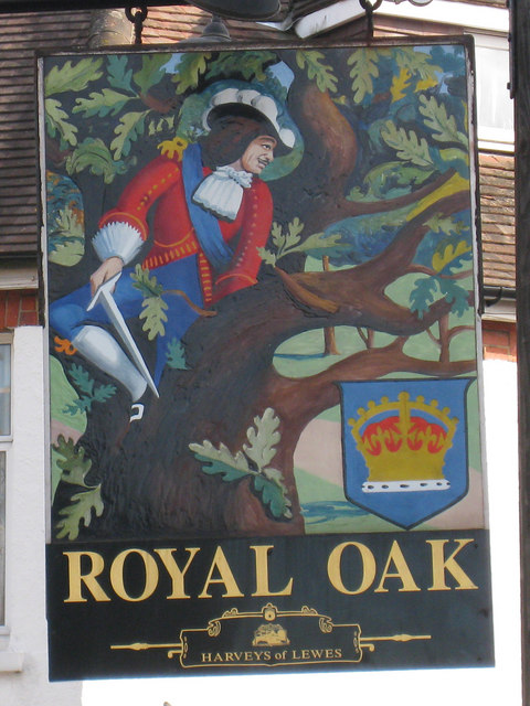 Royal Oak sign
