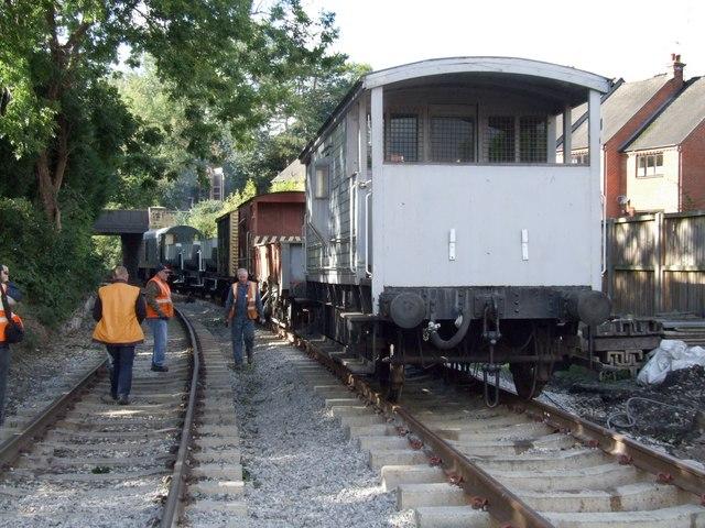 Ecclesbourne Valley Railway, Duffield