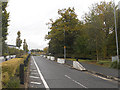 SJ9304 : Access road to Hilton Cross Business Park by Row17