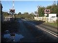 SJ3762 : Balderton Crossing on Lache Lane by John S Turner