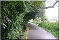 TQ1675 : Thames Path approaching Richmond Lock by N Chadwick