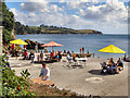 SW7626 : Trebah Beach by David Dixon