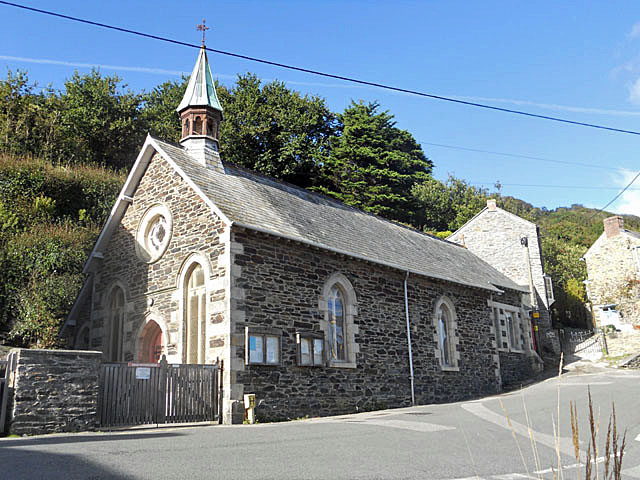 Portloe church